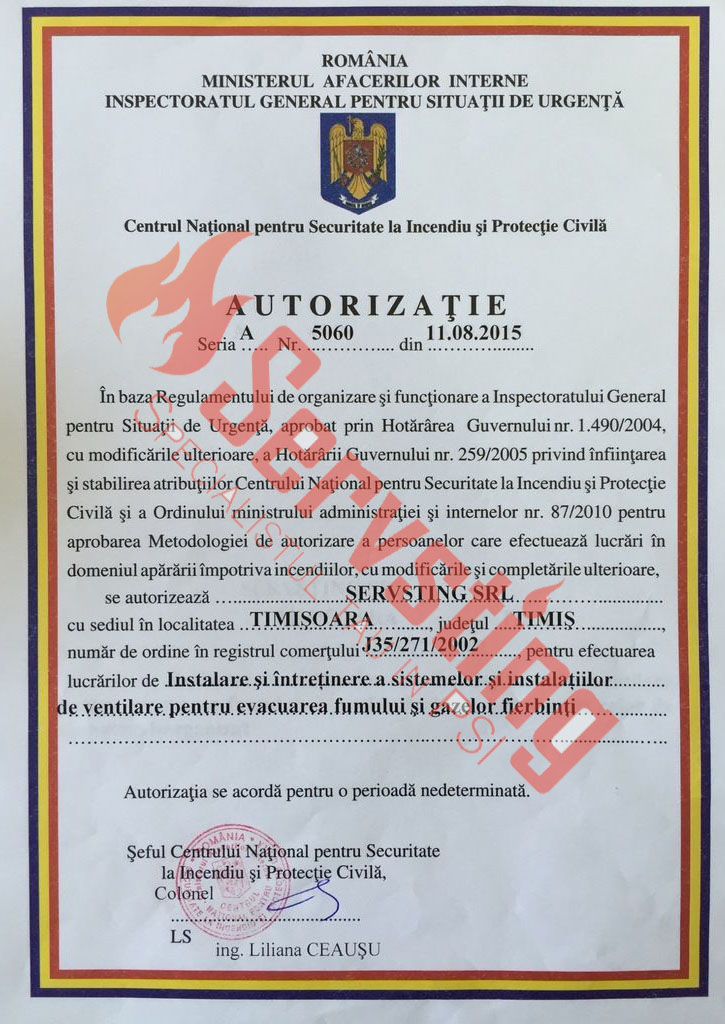 Specialisti cu autorizatii SSM si PSI
